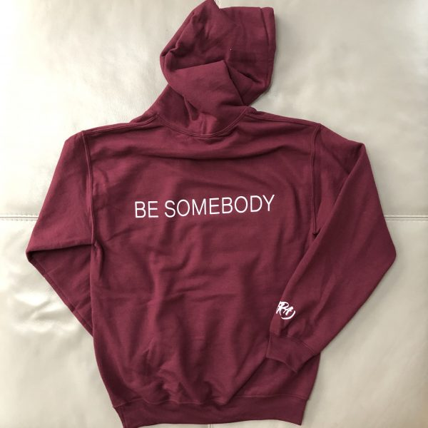 the hara band be-somebody-hoodie