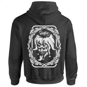 THE HARA CIRCUS Black Hoodie Back