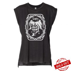 CIRCUS Drophole Tshirt Black Front - SOLD OUT