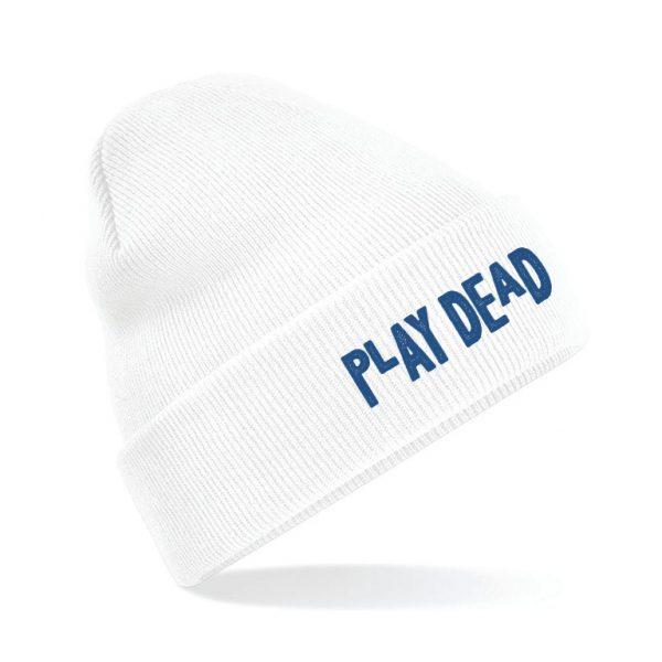 THE HARA White Beanie PLAY DEAD