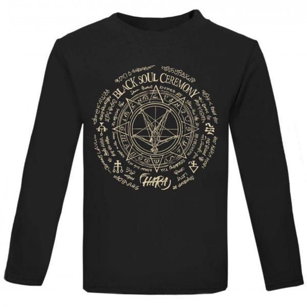 The Hara Black Soul Ceremony Long Sleeve T-shirt