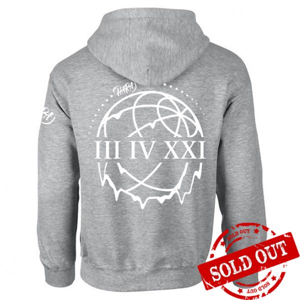 Hoodie Virtual Gig BACK - SOLD OUT